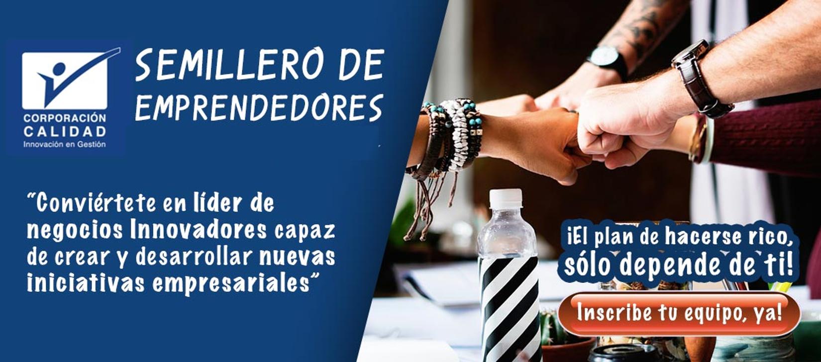 SEMILLERO DE EMPRENDEDORES – LABORATORIO DE NEGOCIOS Y MERCADEO EN ...